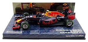 Minichamps 417161233 1:43 Red Bull Racing RB12 - M.Verstappen - 3er Lugar brasileño GP 2016