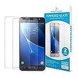 Power Theory Samsung Galaxy J5 2016 Schutzfolie (2 Stück) - 9H Panzerglas/Panzerglasfolie HD Schutzglas, Displayschutzfolie, Screen Protector Hartglas Panzerfolie Tempered Glas Glasfolie