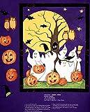 Halloween Geist Story-Motiv, Baumwolle, für