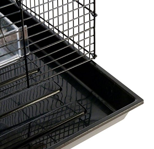 Finca Powder-Coated Metal Bird Cage - Comes Complete with Accessories and with Narrow Bar Spacing Suitable for Smaller Bird Species 6