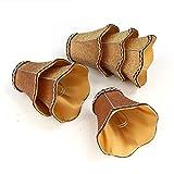 Fuloon Paralume in Tessuto, Set di 6 Paralume Moderna Stile Europeo Coprilampada per Candela Lampadario Lampada da Parete