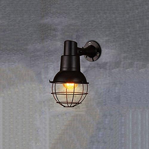 ini Malerei Metall Flush Mount Wandleuchten mit Cage Kreative Kunst Themed Restaurant Bar Wandleuchter Lichter Beleuchtung ()
