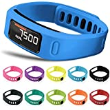 Set Of 10 Multi-Color Replacement Wrist Bands For Vivofit With Clasps Vivofit Bracelets (Small)