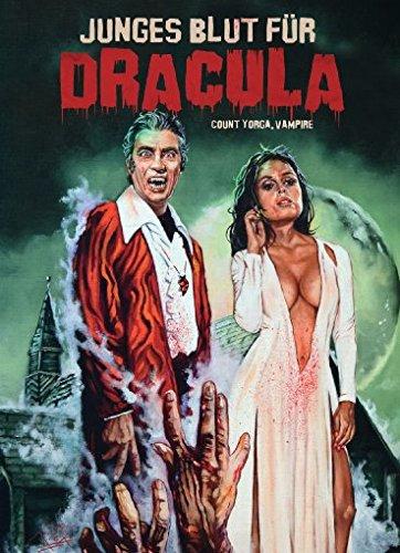 Bild von Junges Blut für Dracula - 2-Disc Limited Collector's Edition (Blu-ray & DVD) - Limitiertes Mediabook auf 444 Stück, Cover B