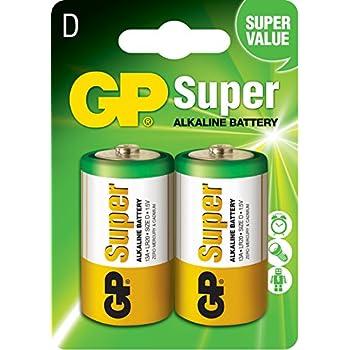 gp batteries lr20 1 5 v super alkaline mono d battery. Black Bedroom Furniture Sets. Home Design Ideas
