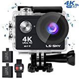 LS-SKY Camera Sport 4k Action Caméra Wi-FI 16MP...