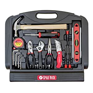 buy great neck tools 48 piece tool set in blow molded stand up case gnsgn48 category tool. Black Bedroom Furniture Sets. Home Design Ideas