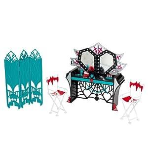 Mattel - Monster High Hauntlywood Tapis Noir Le Dressing