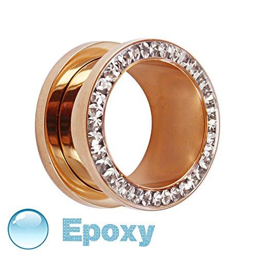flesh-tunnel-rosegold-kristall-klar-schutzschicht-14-mm