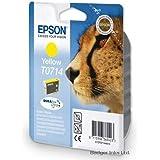 Yellow Original Epson Printer Ink Cartridge for Epson Stylus DX400