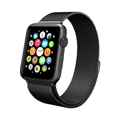 apple-watch-band-swees-42mm-milanese-loop-stainless-steel-bracelet-strap-replacement-wrist-band-with