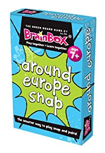 Green Board Games Around Europe Snap - Juego Educativo sobre Europa (Importado de Reino Unido)