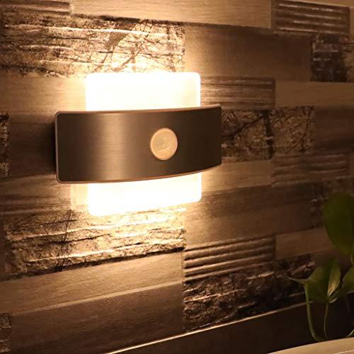 Tianya LED-Licht ★ LED Portable Wireless Cabinet Nachtlicht Motion PIR Sensor Closet unter Lampe USB-Schnittstelle