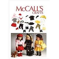 McCall's 6669 - Patrón de costura para confeccionar ropa para muñecas de hasta 45 cm (varios modelos)