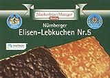Haeberlein Metzger Elisenlebkuchen Nr. 5 2-fach, 2er Pack (2 x 175 g)