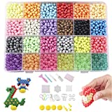 Joyibay Kinder Sicherung Perlen Kit Kreative Magie Sortierte Farbe Kunsthandwerk DIY Wasserperle