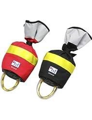 HF Safety - Bolsa de rescate para lanzar (cuerda 18m) rojo rosso