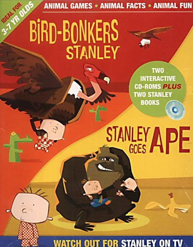 bird-bonkers-for-stanley-stanley-goes-ape-cd-roms-with-books