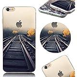MOMDAD iPhone 7 Funda Ultra-Slim Fit TPU Cáscara de Silicona de Gel Carcasa Tapa Case iPhone 7 TPU Teléfono Caso Suave Carcasas Funda para iPhone 7 4.7 Flexible Cover