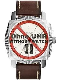 Fossil bande de montre de bracelet pour montre fs5108de rechange d'origine FS 5108Bracelet de Montre bracelet cuir 24mm Marron