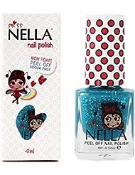 Miss Nella Spezial-Nagellack für Kinder, mit abziehbarer Formel auf Wasserbasis