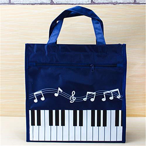 Klavier Druck Mode Handtasche Schultertasche Messenger Bag Mit GroßEr KapazitäT Im Freieneinkaufstasche Klavier-Taschen 31.5 * 11 * 28.5Cm