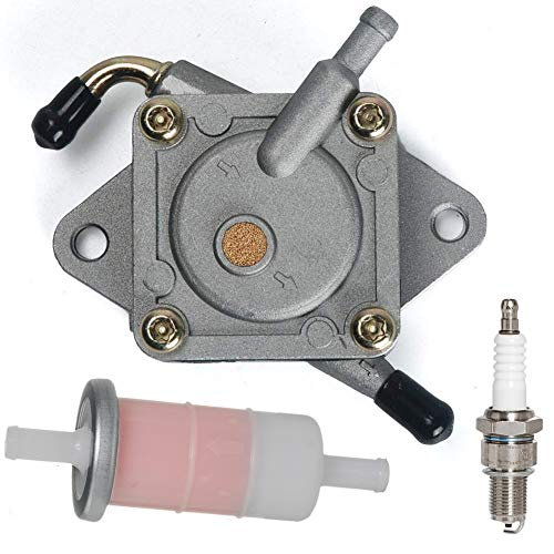 XLYZE 5pcs Fuel Filter for Kawasaki ATV 49019-1055 ZX600E ZX750 Ninja ZX-7R ZX900 ZX1000B KXV700 KFX700 KAF400B KAF400D Mule