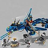 Prezzo Lego Ninjago 70652 Dragone della Tempesta, Taglia Unica, 493 pezzi
