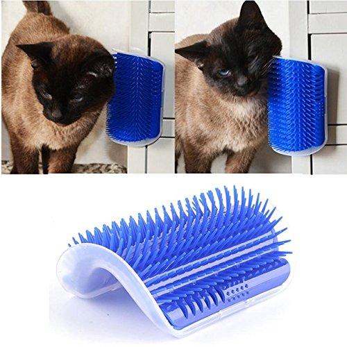 takestop Massagegerät Wand Bürste wollkämmers Peli kurze und lange Massage-Handschuh für Hund Katze Tiere Tier Massage