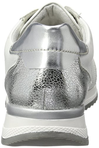 Remonte R7000, Sneakers Basses Femme Blanc (Silber/argento/weiss/weiss / 81)