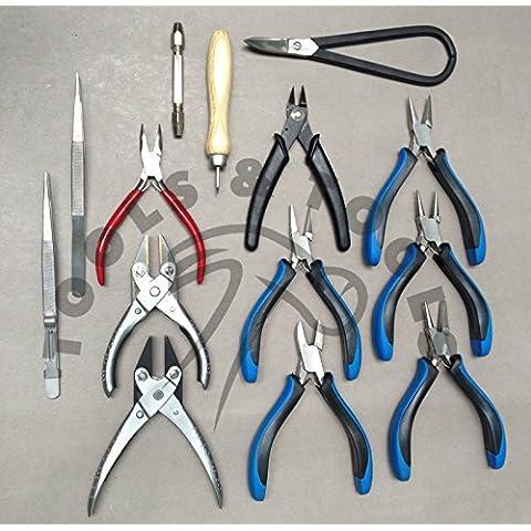 Gioielli Tool Kit 14pc Bead lavoro a mano strumenti per Jewelers Hobby & Craft