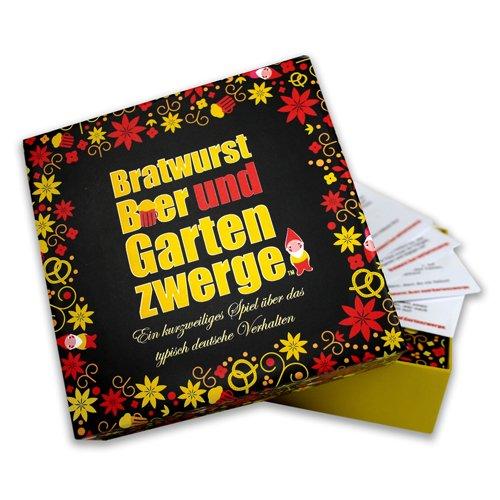 """Kartenspiel """"Bratwurst, Bier u. Gartenzwerge"""" von Kylskåpspoesi"""