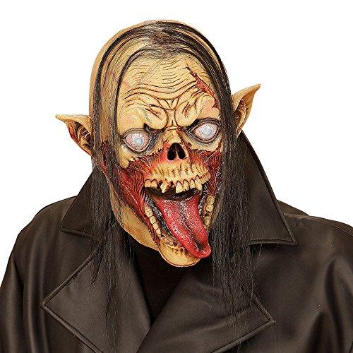 e Vampirzombie mit Haar für Erwachsene (Grusel Kostüme)