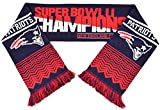 NEW ENGLAND PATRIOTS SUPER BOWL 51 CHAMP SCARF - 2