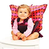 My Little Seat The Travel Highchair (Pinky Buttons, 6 - 36 Months)