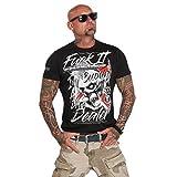 Yakuza Original Herren Drug Dealer T-Shirt - Schwarz - M