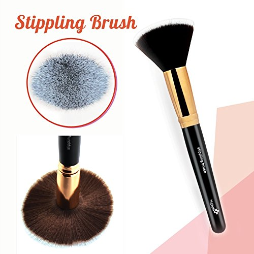 Firma Brush Foundation Trucco - Flat Top Stippling pennello grande