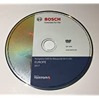 2017, Volkswagen MFD2EX-V Sat Nav mapa navegación DVD disco UK Europa