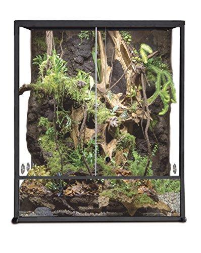 Reptiles Planet Aluminium Elegance Terrarium für Reptilien/# 30430x 30x 45schwarz