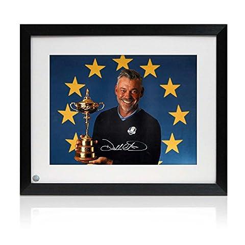 Darren Clarke Signé Framed Photograph: 2016 Ryder Cup capitaine