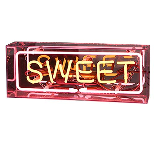 Matedepreso LED Neon Zeichen Wand Neon Licht Wandleuchte für Zuhause Bier bar Pub Freizeit Zimmer Spiel Zimmer Windows Garage Wand Lager Zeichen - Sweet, Free Size -