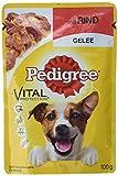 PEDIGREE Vital Protection/Hochwertiges Hundefutter mit Rind in Gelee / 24 Beutel (24 x 100 g)