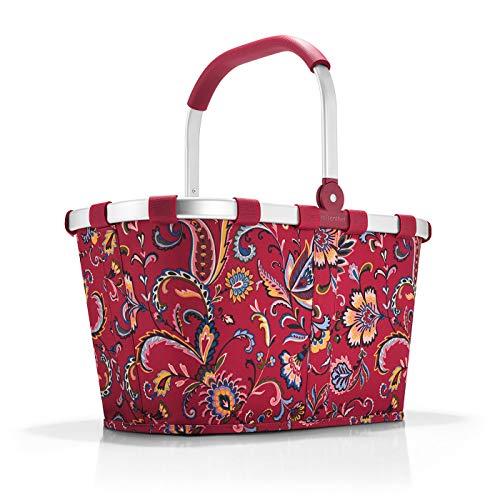 Reisenthel Carrybag Sporttasche, 48 cm, 22 L, Paisley Ruby (Ruby-see)