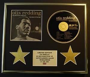 OTIS REDDING/CADRE CD/EDITION LIMITEE/CERTIFICAT D'AUTHENTICITE/THE DEFINITIVE COLLECTION - THE D...