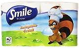 Smile Asciugatutto con Pura Cellulosa - 4 Rotoli