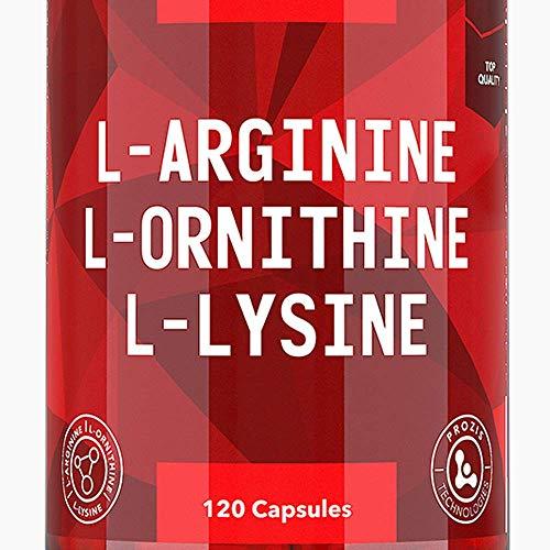 Zoom IMG-3 prozis l arginina ornitina lisina