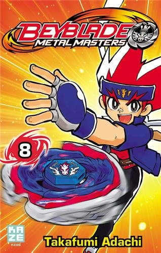 Beyblade Metal Fusion / Masters / Fury Edition simple Tome 8