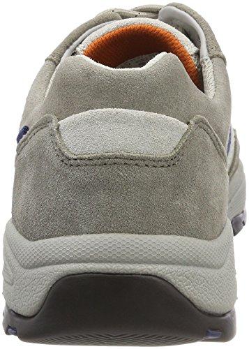 camel active Herren Evolution 36 Sneaker Grau (Grey/Lt.Grey/White)