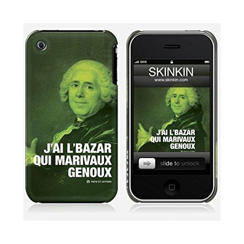 Skinkin iPhone 3Schutzhülle Design Original: Marivaux durch Fists und Buchstaben