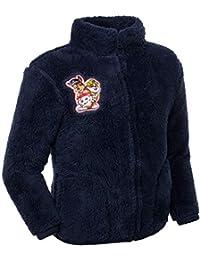 Brandsseller Kinder Fleece Jacke Stehkragen Kuscheljacke mit Motiven im Stil von Paw Patrol